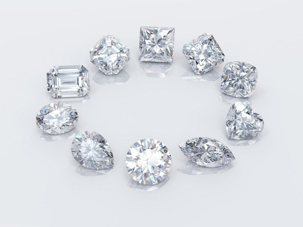 beautiful diamond gems