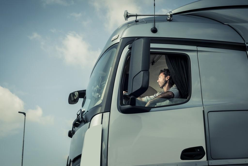 driving a truck