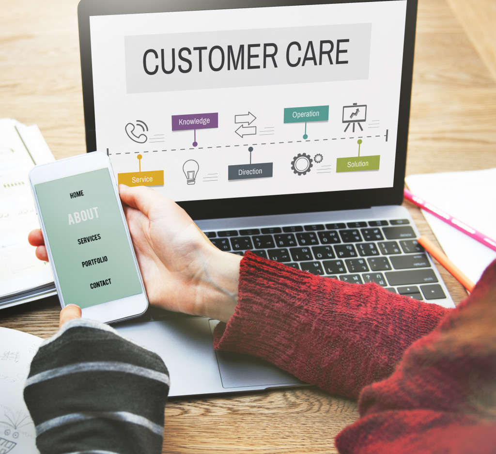 customer care in visual