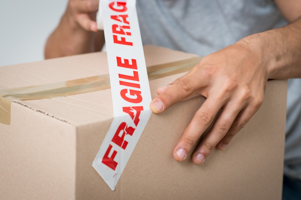 packaging fragile