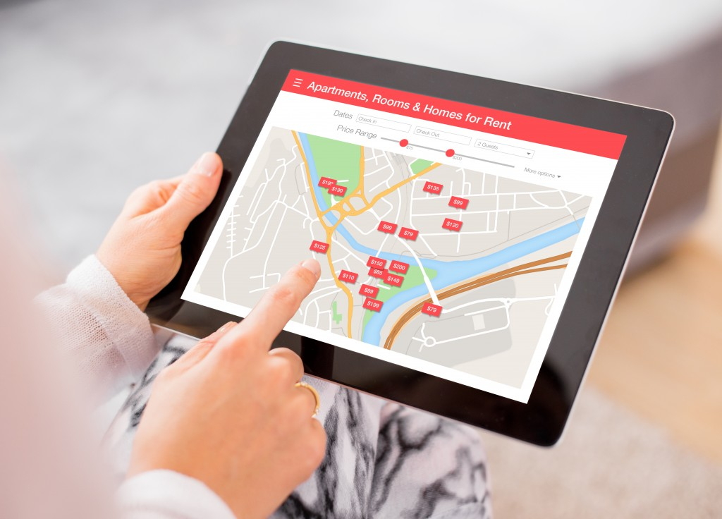 maps tablet