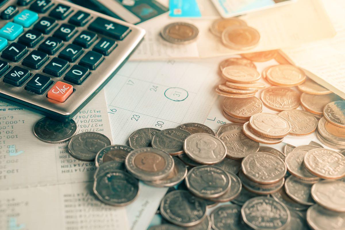 money coins calculator finance